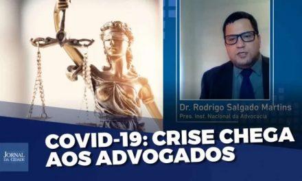 O Presidente do INAD Instituto Nacional da Advocacia, Rodrigo Salgado Martins em entrevista à TV Jornal da Cidade Online, destaca os prejuízos na suspensão dos prazos de Processos Eletrônicos!